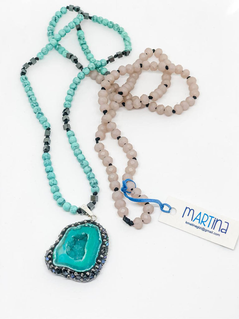 Martina: Sea's Heart Necklaces