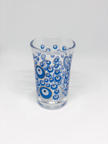 Shot Evil Eye Glass