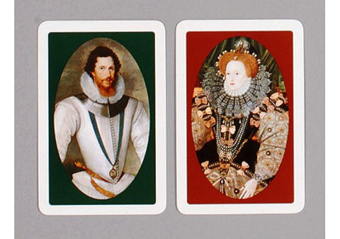 Queen Elizabeth I & The Earl of Essex Playing Cards