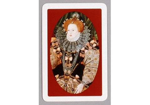 Queen Elizabeth I Playing Cards