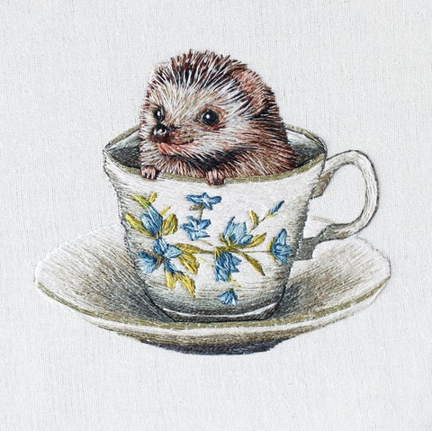 Baby Hedgehog Greetings Card