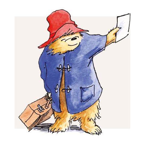 A Note From Paddington Greetings Card