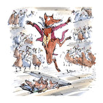 Fantastic Mr. Fox Greetings Card