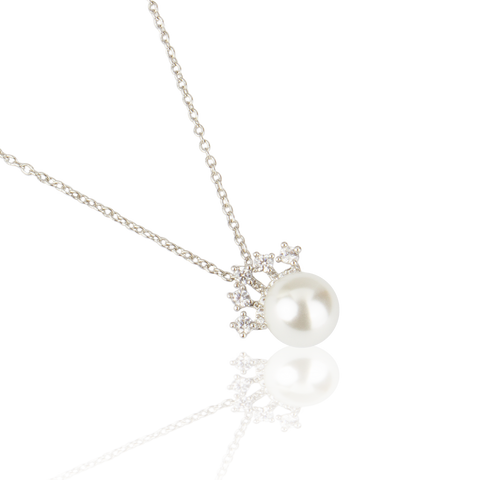 Crown Pearl Pendant