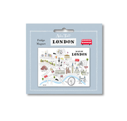 Alice Tait London Map Magnet