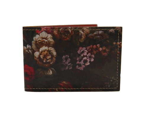 Floral Blooms Card Wallet
