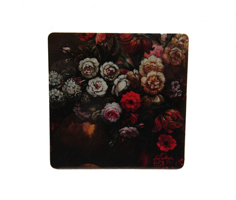 Floral Blooms Square Coaster