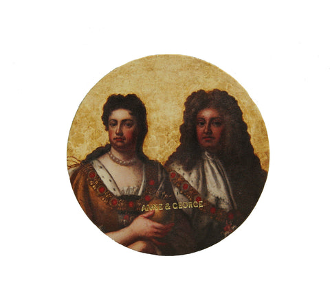 Anne & George Round Coaster