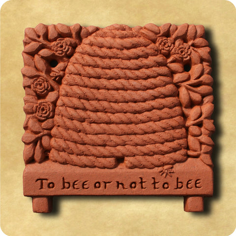 Honey Bee Terracotta Tile
