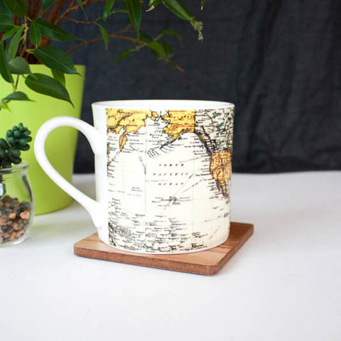 Man of the World China Mug