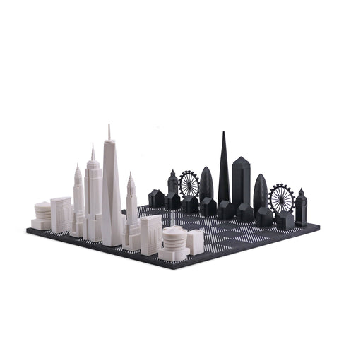 Skyline Chess: London Vs New York City