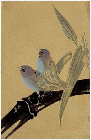 Sparrows & Bamboo