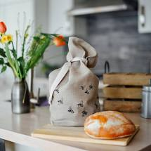 Bee Bread Bag in Pure Linen