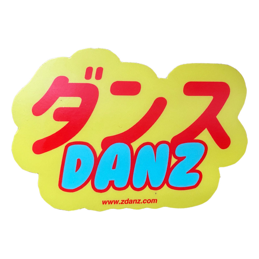 Danz / Dance Japan Sticker