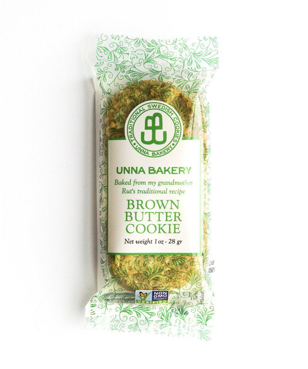 Brown Butter Cookie Snack Pack-Unna Bakery