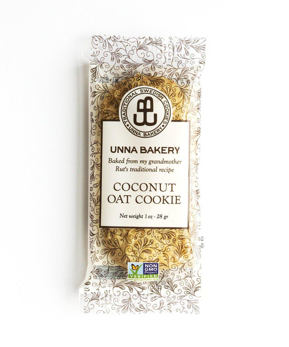 Coconut Oat Cookie Snack Pack-Unna Bakery