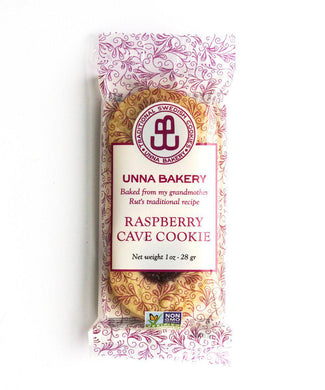 Raspberry Jam Drop Snack Pack-Unna Bakery