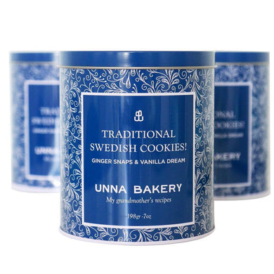 Holiday Tin-Unna Bakery