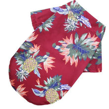 Load image into Gallery viewer, Hawaiian Dog Shirt - Bend It Like BaiYu