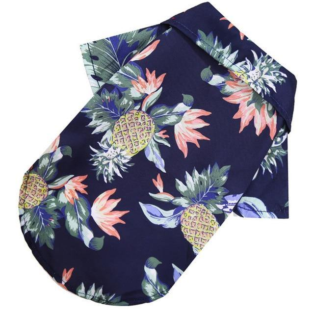 Hawaiian Dog Shirt - Bend It Like BaiYu