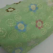 Load image into Gallery viewer, Minty and Springy Cotton Blend Fabric