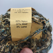 Load image into Gallery viewer, Glitzy Enchanted Forrest Wool/Nylon Fancy Yarn 2 Pack
