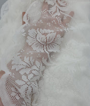 "Load image into Gallery viewer, Beautiful Lace Fabric - 10 yards x 58"" wide"