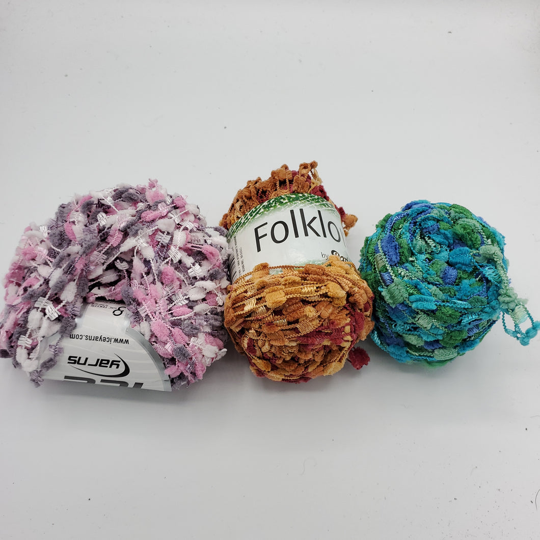 Fun Pom Textured Yarn Pack