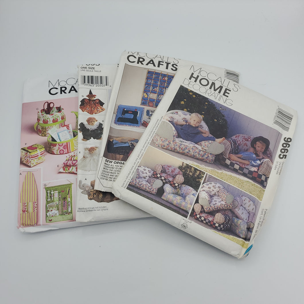 Home Sewing Craft Pattern Bundle