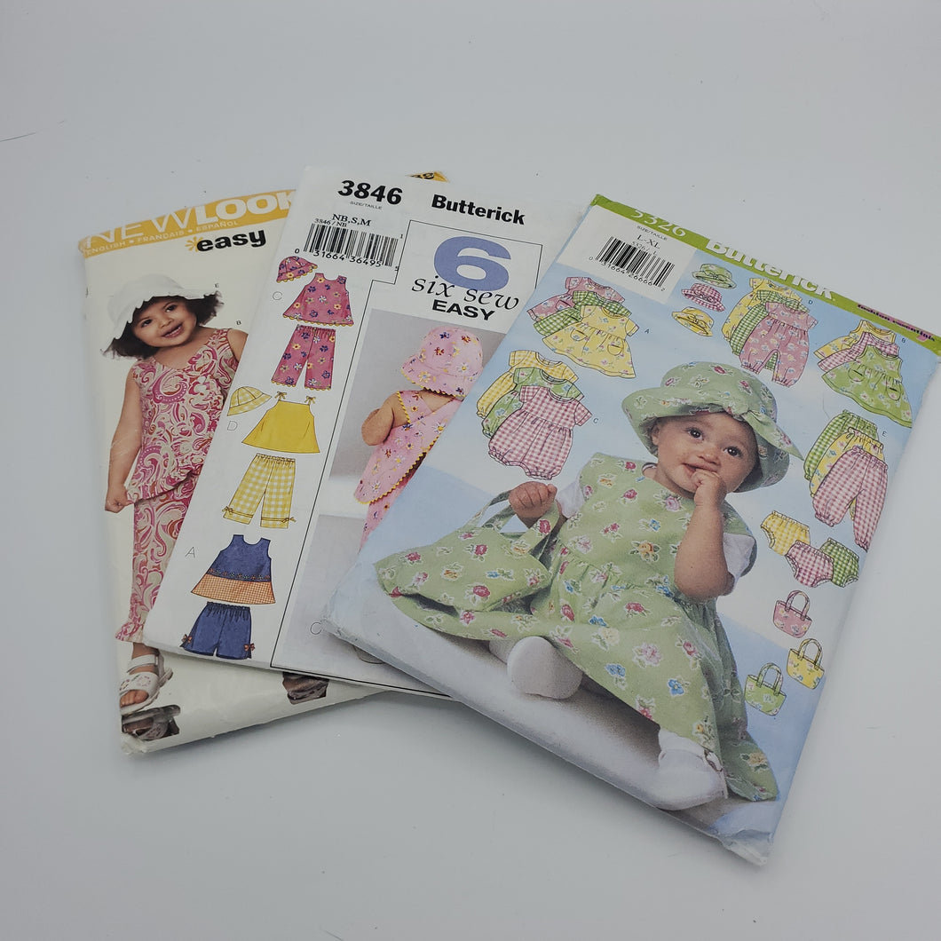 Baby Sewing Pattern Bundle