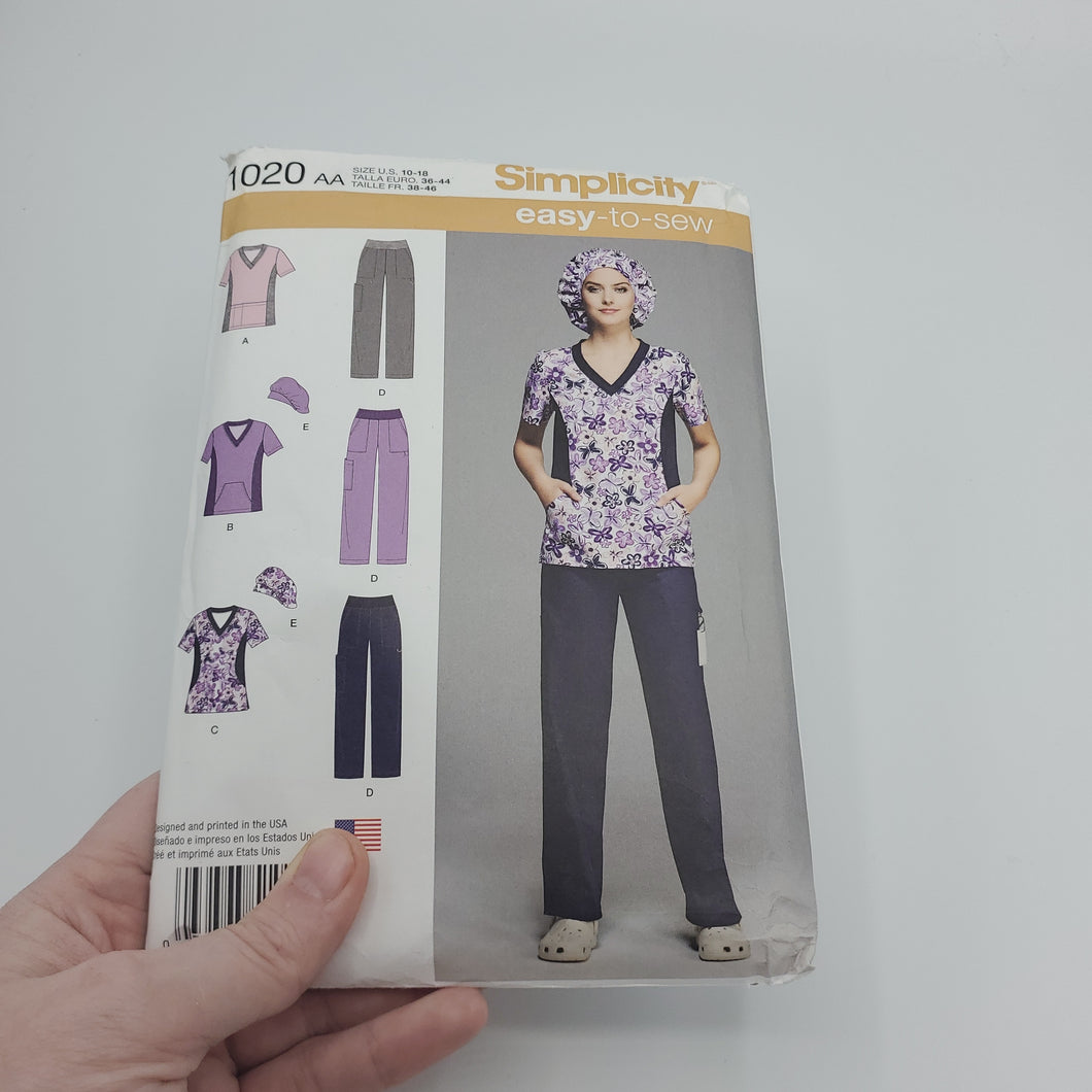 Scrubs Sewing Pattern