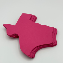 Load image into Gallery viewer, Pink Texas Paper Die Cut