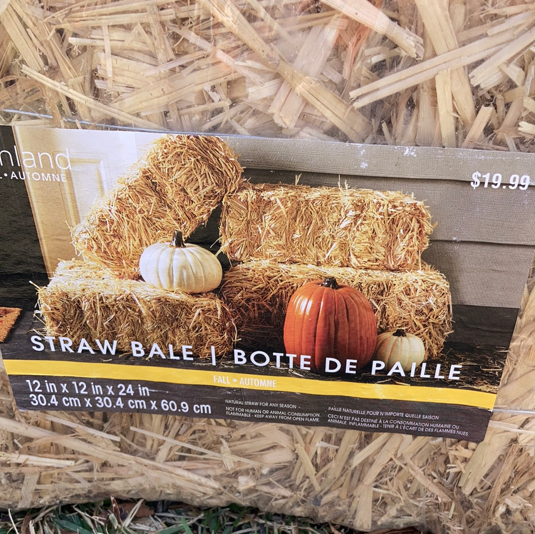 Straw Craft Bale