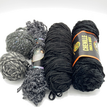 Load image into Gallery viewer, Dark and Stormy Yarn - Lot #102