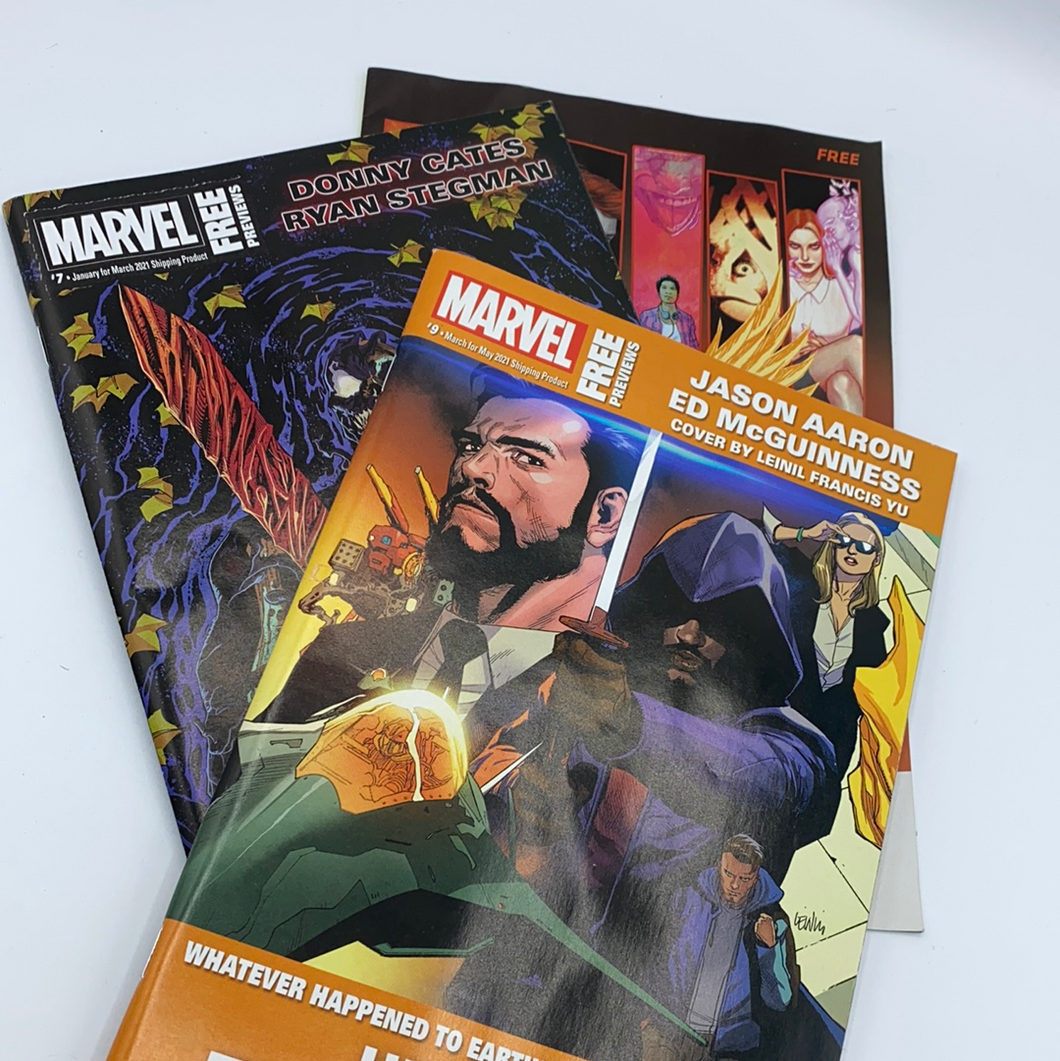 Comic Preview Books