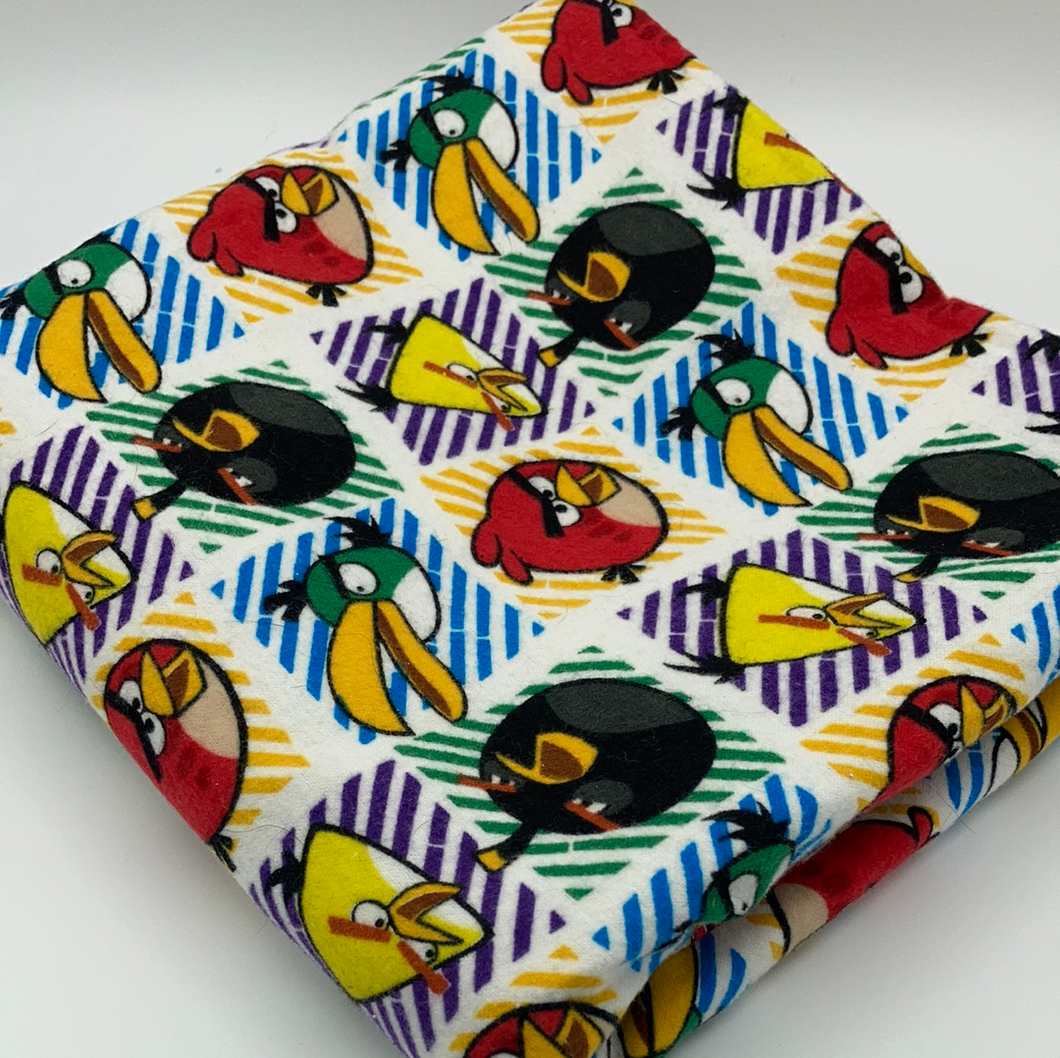 Angry Birds Flannel Fabric