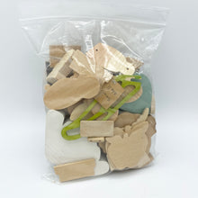 Load image into Gallery viewer, Misc. Wood Bits Baggie