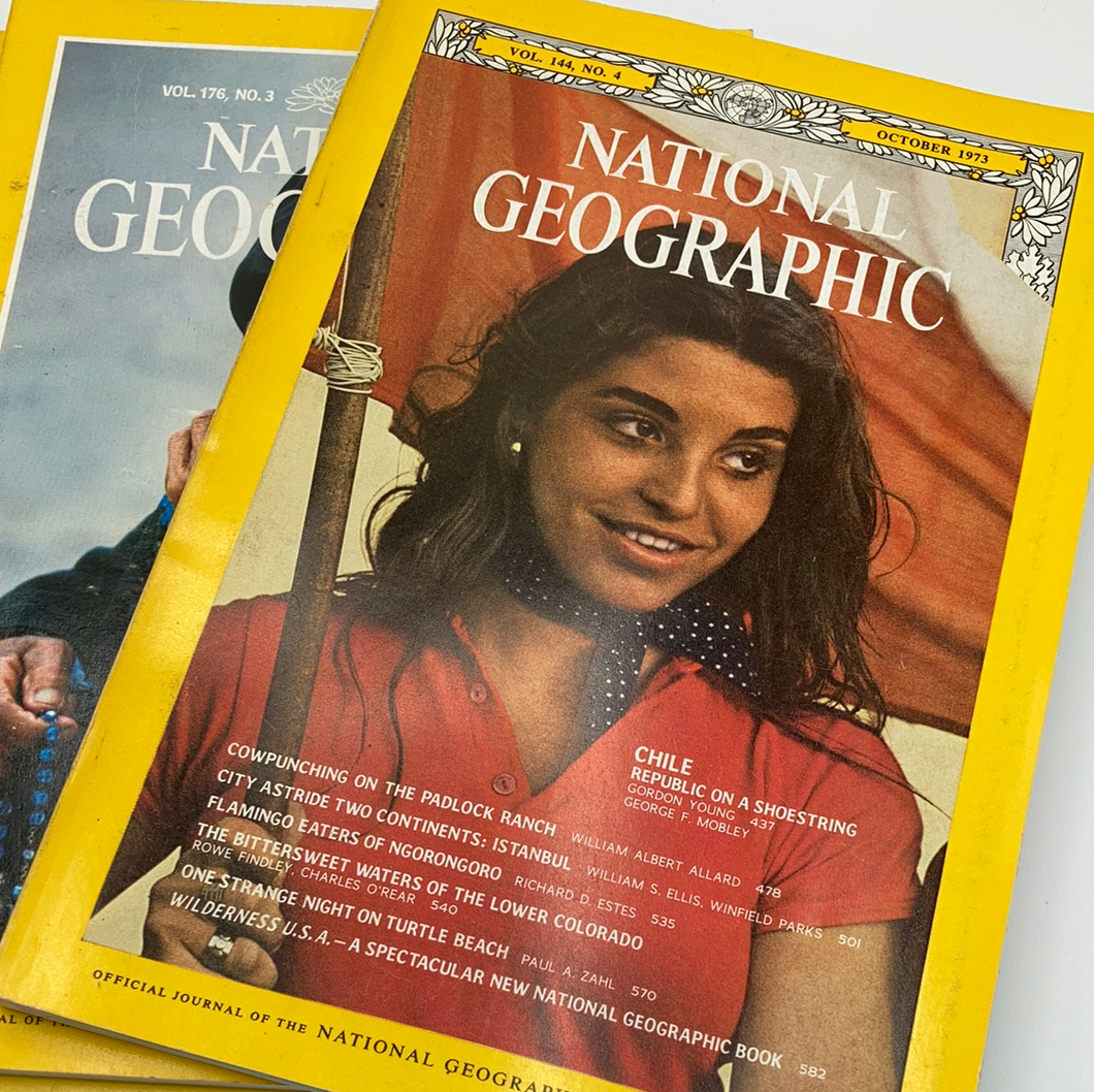 Vintage National Geographic Mystery Pack