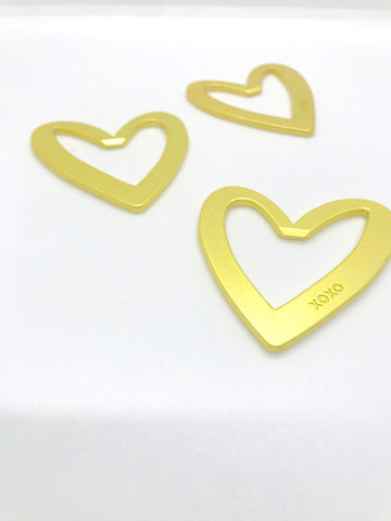 Gold Heart Bottle Opener