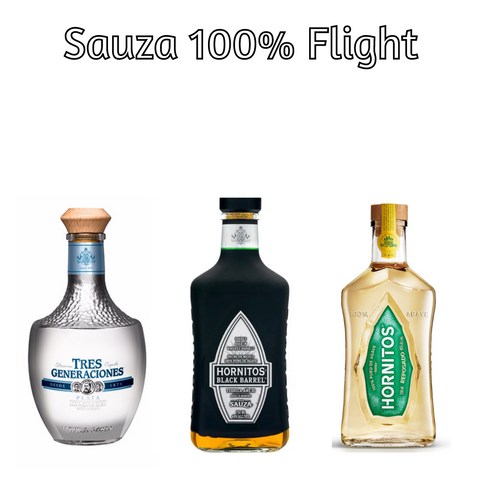 Sauza 100% Agave Tequila Flight