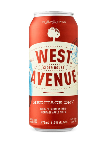West Avenue Cider 473 ml x 6