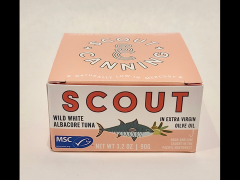 Scout Canning White Albacore Tuna