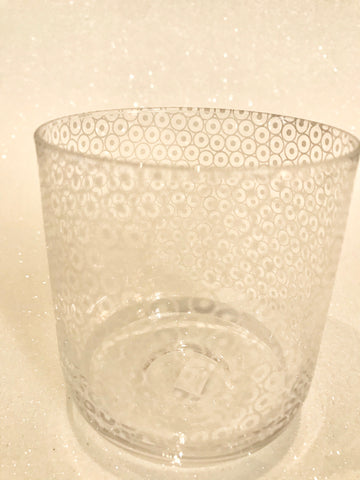 Decorative Dotted Tumbler