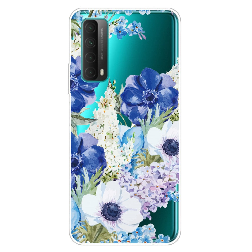 Husa silicon Huawei P Smart 2021 model Flower Garden, Silicon, TPU Viceversa