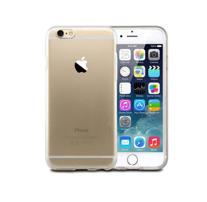 Husa silicon Apple iPhone 6 iPhone 6S slim Protectie A+, Transparenta