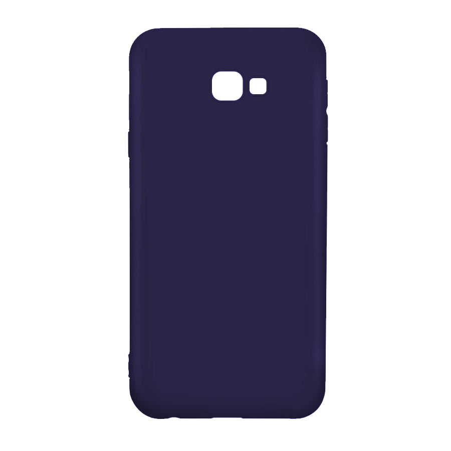 Husa silicon Samsung Galaxy J4 Plus 2018 Navy Blue + Folie sticla securizata Samsung Galaxy J4 Plus 2018 , Antisoc, TPU, Viceversa