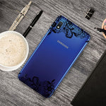 Carcasa Husa Samsung Galaxy A10 model Lace, Antisoc + Folie sticla securizata Samsung Galaxy A10  Tempered Glass  Viceversa