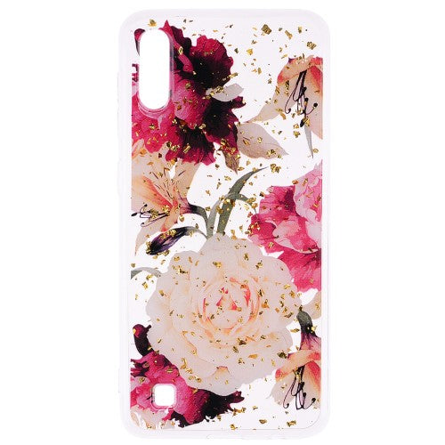 Carcasa Husa Samsung Galaxy A10 model Roses, Antisoc + Folie sticla securizata Samsung Galaxy A10  Tempered Glass  Viceversa