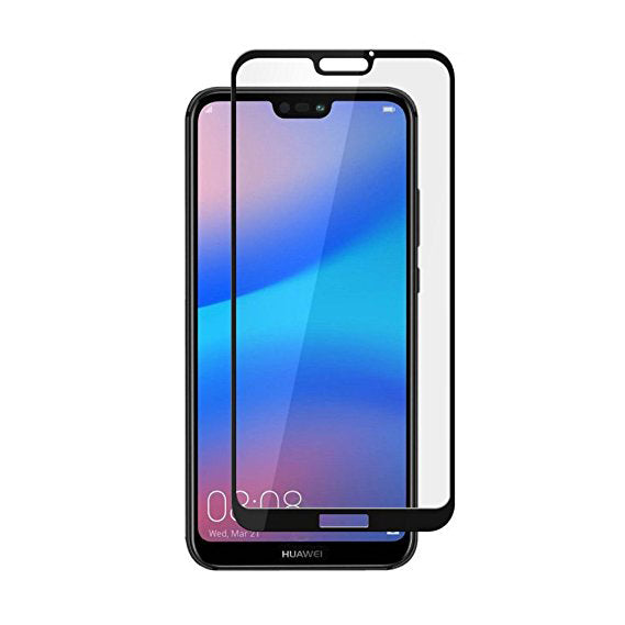 Folie sticla securizata Huawei P20 3D Negru, FULL SCREEN,Tempered Glass, Antisoc, Viceversa