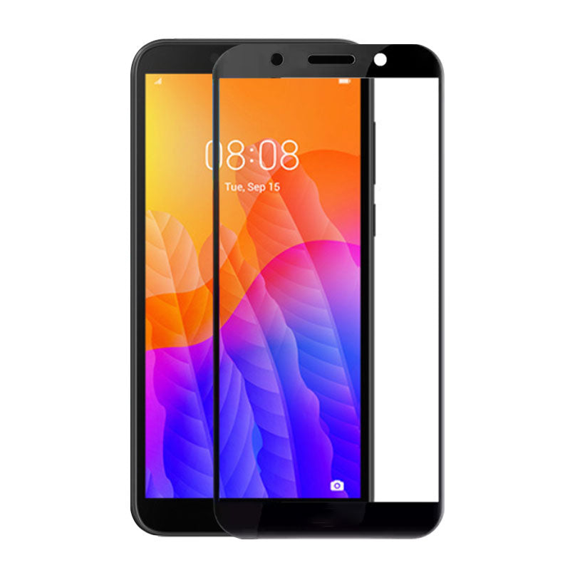 Folie sticla securizata Huawei Y5P, 3D Negru, FULL SCREEN, Full Glue,Tempered Glass, Antisoc, Viceversa
